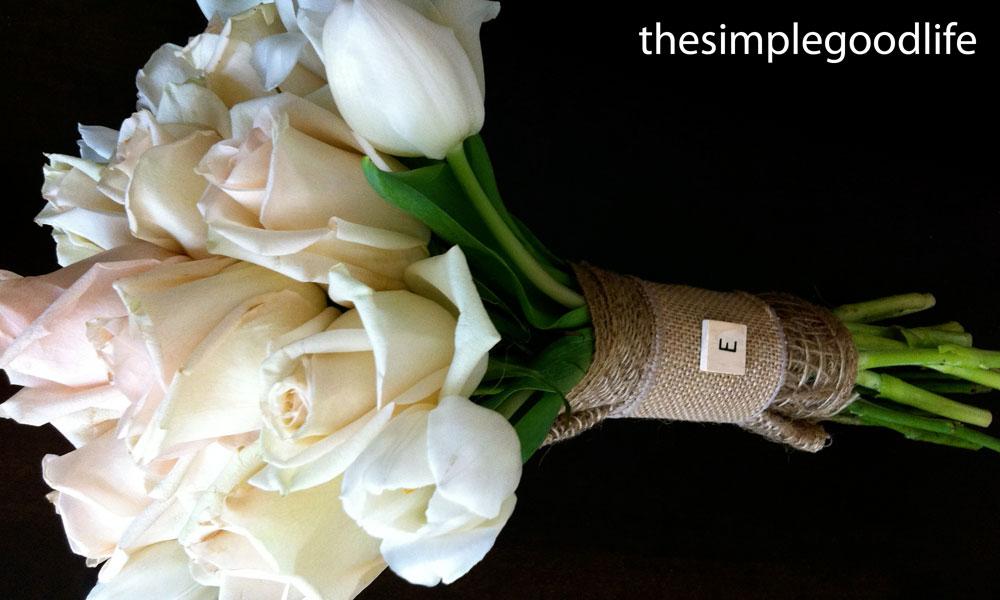 diy wedding bouquet « thesimplegoodlife