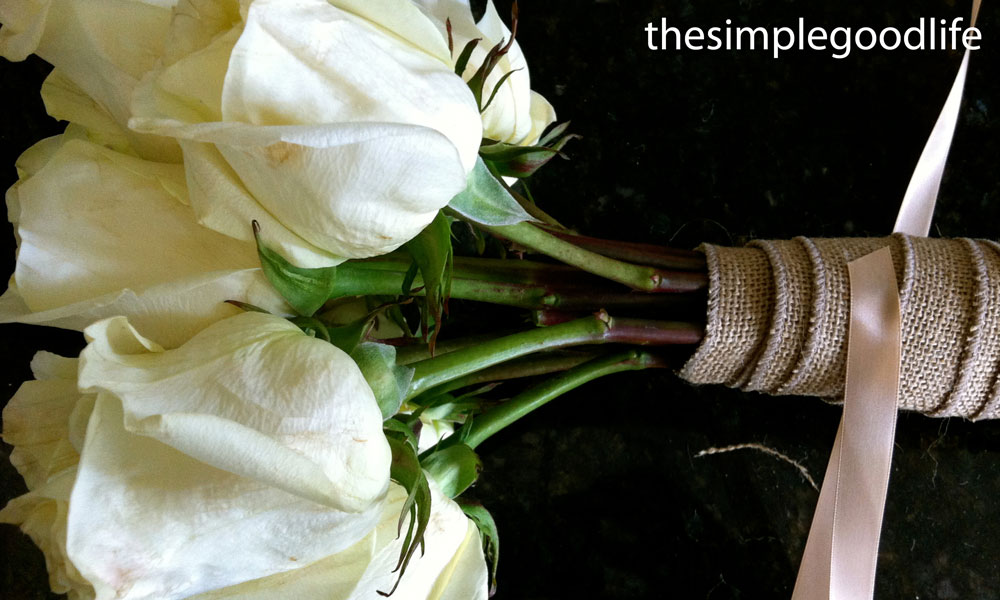 Diy Wedding Bouquets Without Flowers : Diy wedding bouquet ? thesimplegoodlife